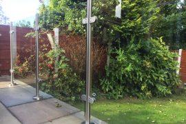 Garden Renovation Glass Balustrade